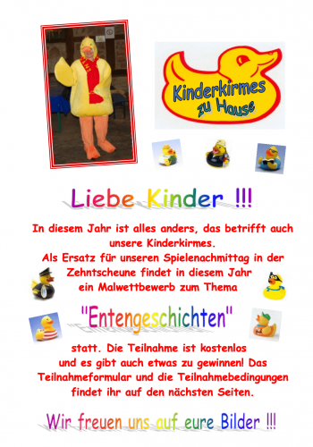 Kinderkirmes-Information